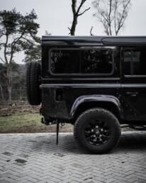 Land Rover Defender 110 Black Design Edition at the parking